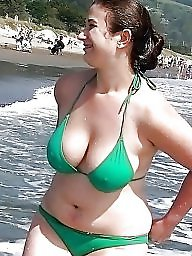 Bikini, Curvy, Thick, Bbw bikini, Thickness, Bbw beach