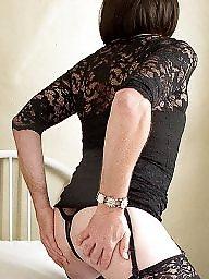 Stockings, Lace, Black stocking