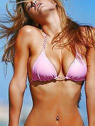 Bikini, Pink, Bikini beach, Purple