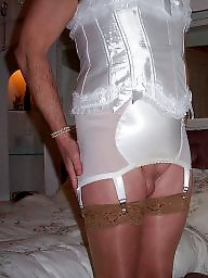 Girdle, Mature girdle, Upskirt stockings, Mature upskirt, Stocking, Upskirt mature