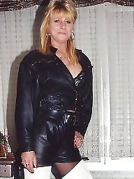 Boots, Latex, Pvc, Leather, Mature porn, Porn mature