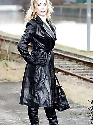 Latex, Pvc, Leather, Boots, Matures, Mature leather