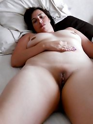 British, British milf, Hairy milf, British amateur