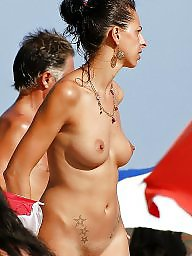 Beach, Public nudity, Beach tits