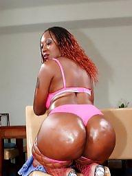 Ebony ass, Blacked