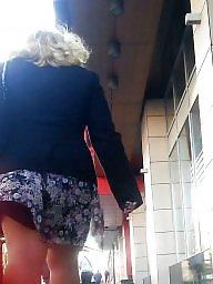 Legs, Skirt, Blonde, Spy, Romanian, Leg