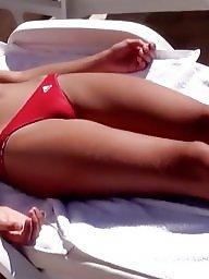 Bikini, Bikinis, Red