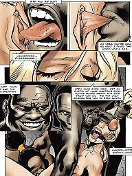 Interracial cartoon, African, Interracial cartoons, Interracial, Cartoon interracial, Bdsm cartoon