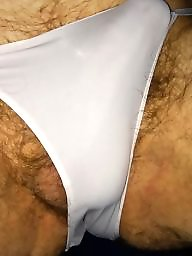 Panties, Panty, Hairy panties, White panties, Hairy panty, Amateur panties