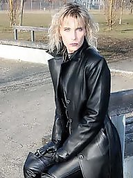 Boots, Leather, Latex, Pvc, Mature porn, Mature boots