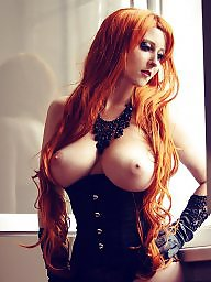 Ginger, Redhead tits
