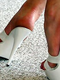 Nylon feet, Mature feet, Mature nylon, Mature nylons