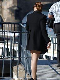 Nylon, Street, Teen stockings, Amateur nylon