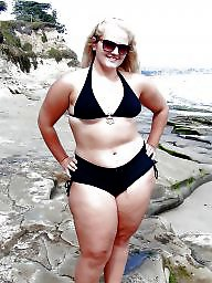 Curvy, Thick, Girls, Bbw beach, Bbw curvy, Thickness
