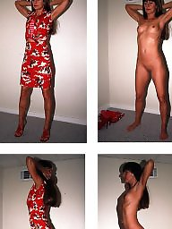Dressed undressed, Dress, Before, Undressing, Undressed, Dress undress