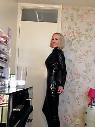 Leather, British, British milf