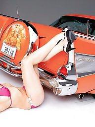 Car, Girls, Cars