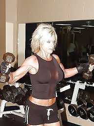 Muscle, Milf boobs