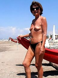 Mature beach, Lady, Beach mature, Mature ladies, Mature lady