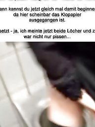Cuckold, Femdom, German, Caption, German captions, ‏sex