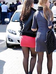 High heels, Heels, Upskirts, Tight, Tights
