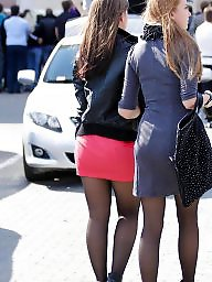 High heels, Stockings heels, Tights