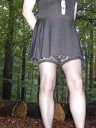 Outdoor, Stockings, Outdoors, Amateur stockings, Public stockings