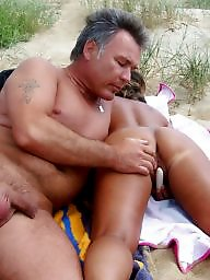 Young, Public, Beach