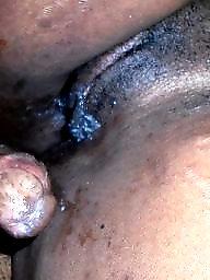 African, Creampie, Ebony creampie