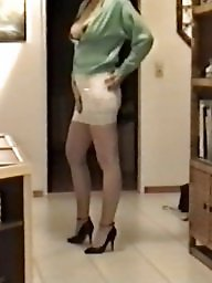 Skirt, Lace, Tights, Tight skirt, Slutty