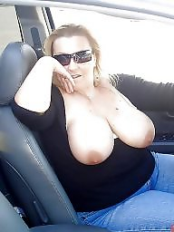 Car, Mature big boobs, Women, Mature women, Mature car, Cars