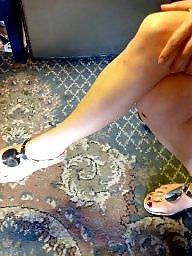 Fetish, Foot, Sandals, Hidden cam, Foot fetish