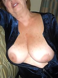 Granny, Bbw granny, Cleavage, Granny bbw, Granny boobs, Face
