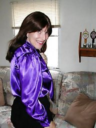 Blouse, Purple, Bbw amateur
