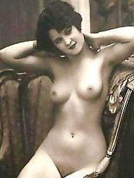Vintage, Old, Old tits, Vintage tits, Old babes