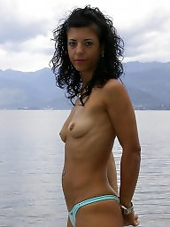 Small tits, Puffy, Puffy nipples, Big nipples, Perky tits, Mature small tits