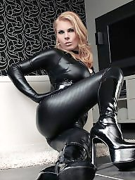 Leather, Boots, Gloves, Catsuit, Boot