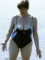 Mature beach, Big boob mature, Beach mature