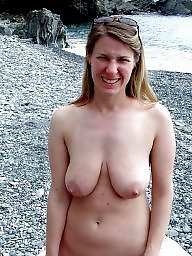 Saggy, Outdoor, Saggy tits, Outdoors, Saggy tit