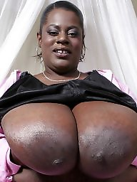 Ebony bbw, Ebony big boobs