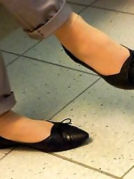 Feet, Flat, Candid, Shoes