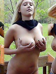 Teen big tits, Natural, Natural tits, Tits flash, Natural boobs, Flashing tits