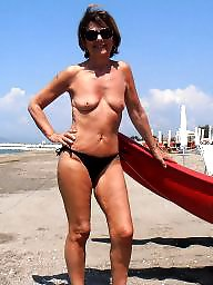 Beach, Mature beach, Mature lady, Beach mature, Amateur matures