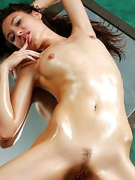 Wet, Oiled, Oil, Wetting