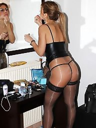 Upskirt, High heels, Heels, Tights, Upskirt stockings, Stockings heels