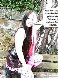 Captions, German captions, Caption, German caption, Teen caption
