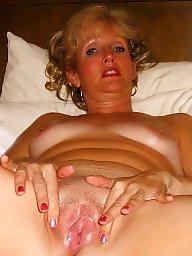 Mother, Dildo, Mature feet, Mothers, Mature pussy, Tit fuck