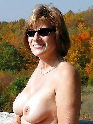 Outdoor, Outdoors, Flashing boobs
