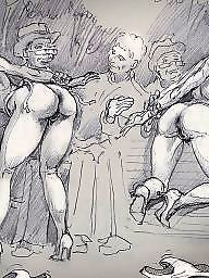 Bdsm cartoon, Art, Bdsm cartoons, Bdsm art, Cartoon bdsm