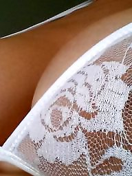 Lace, Nipples, A bra, White